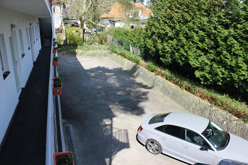 Apartment Hotel Dahlem Parkplatz